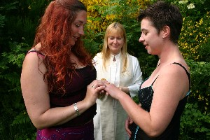 Lesbian marriages Scotland